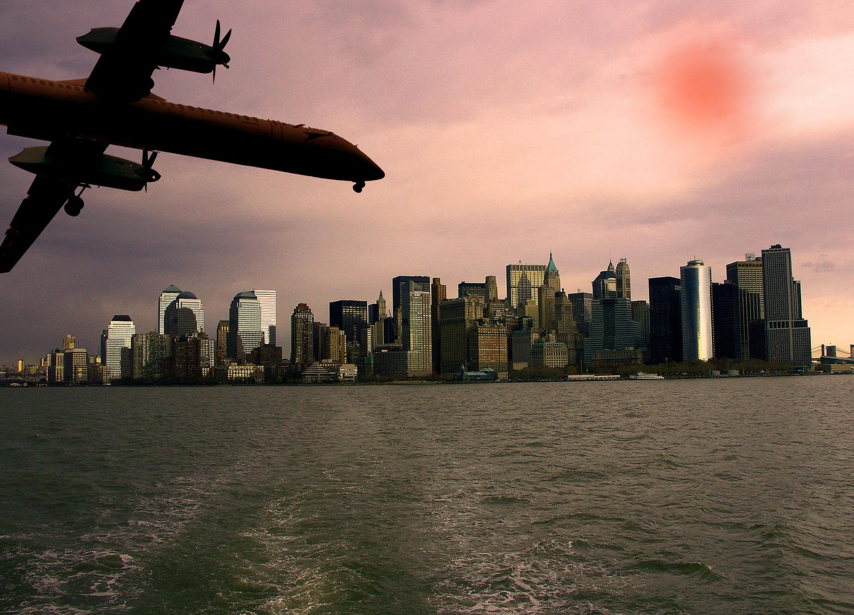 --in der Warteschleife ?Landung in der City?