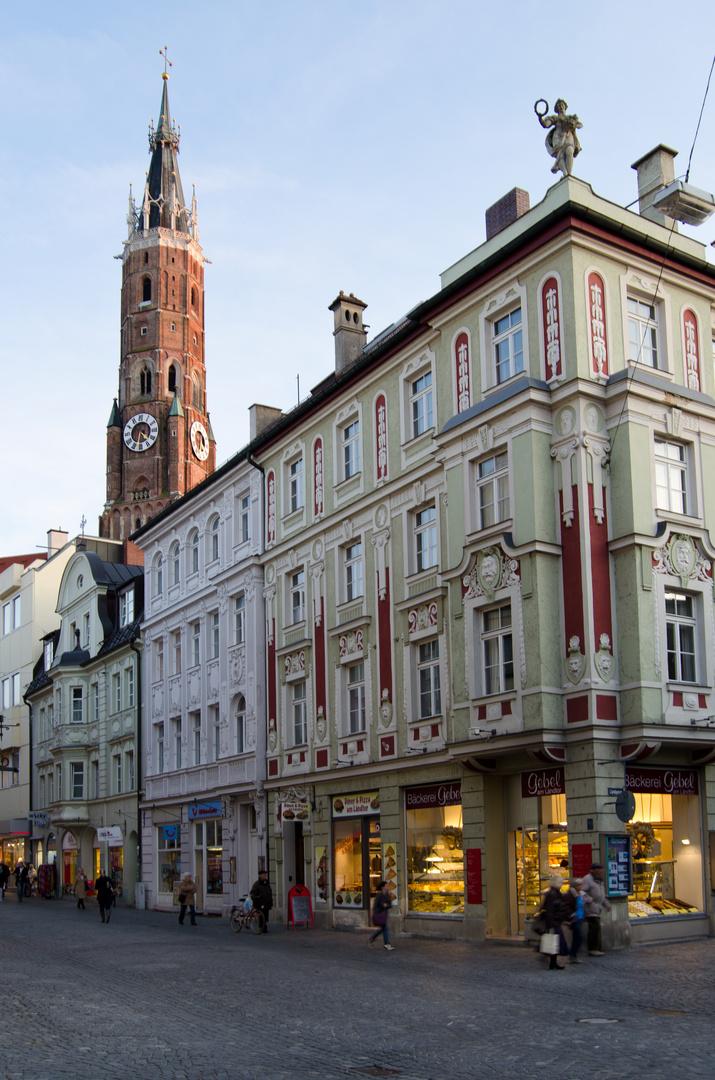 In die Altstadt