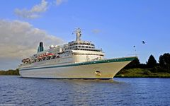 In diesem Jahr das letzte Mal , die MS Albatross in Rendsburg