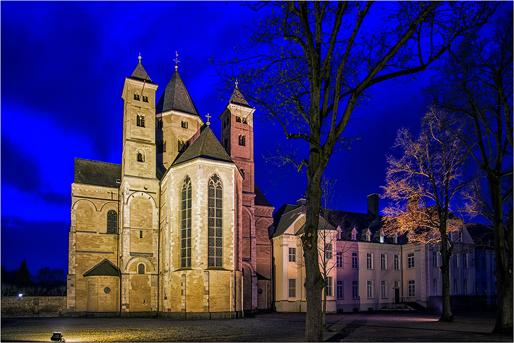 In Dormagen das Kloster Knechtsteden
