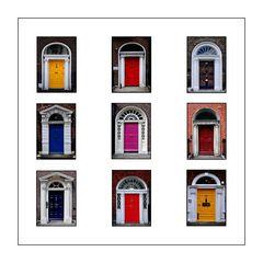 """In Dublin's fair city where the doors are so pretty..."""