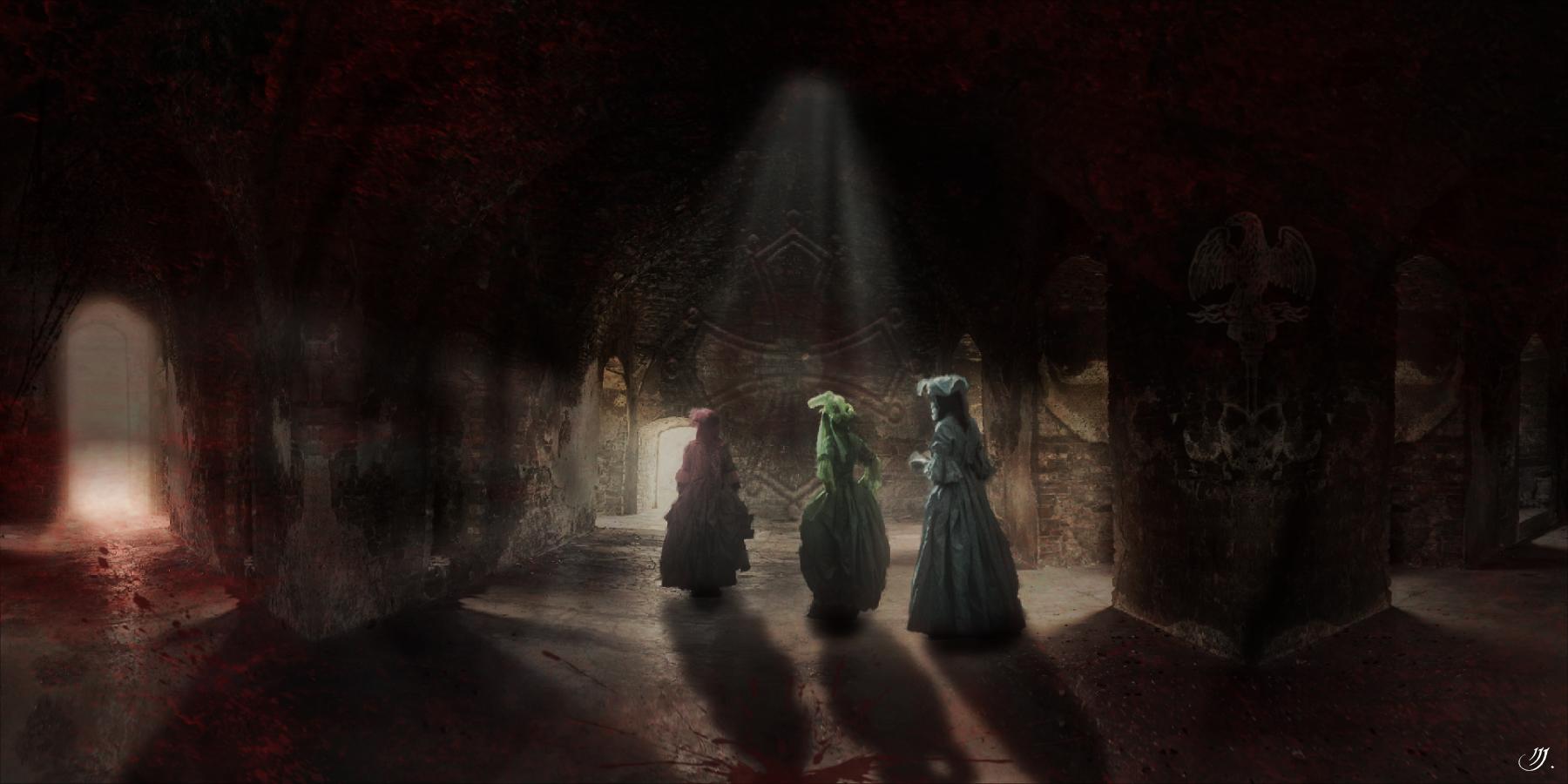 In dunklen Mauern...