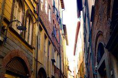 In einer Gasse von Lucca