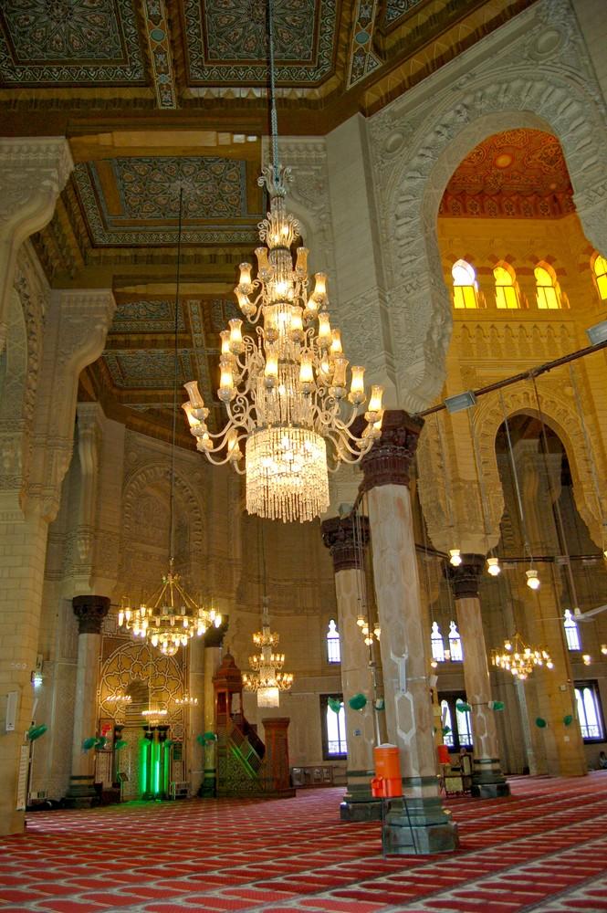 In einer Moschee