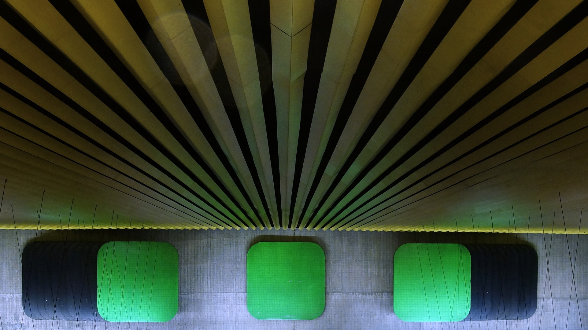 in einer Stuttgarter U-Behn Station