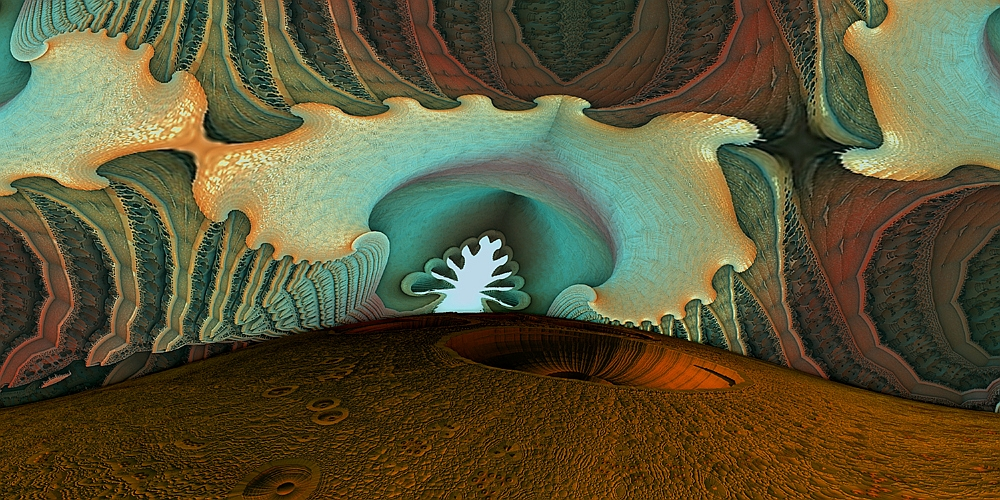 In einer Türkishöhle . . .