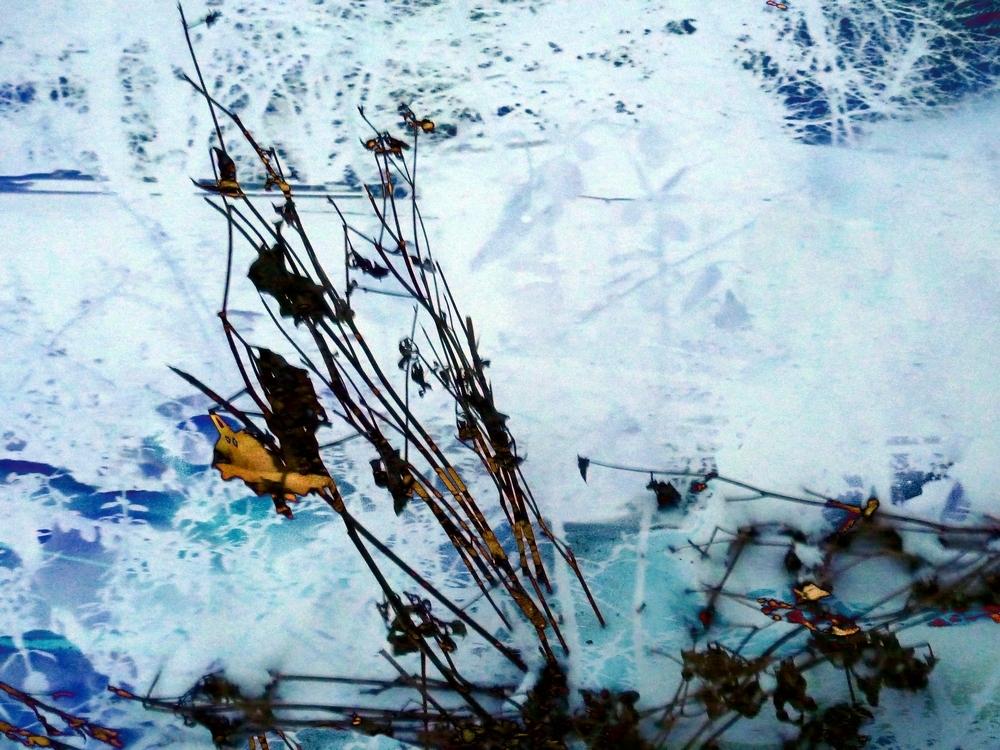 in Eis und Schnee