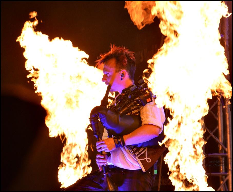 In Flammen ...