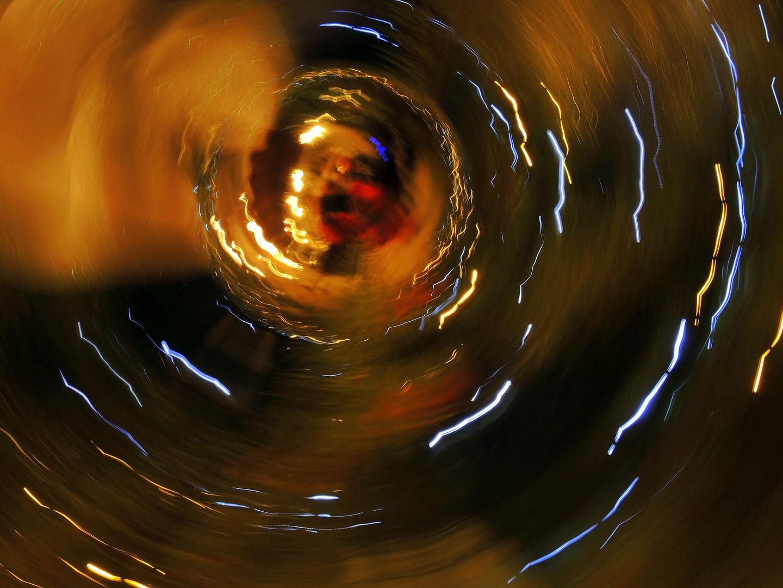 in fondo al turbine