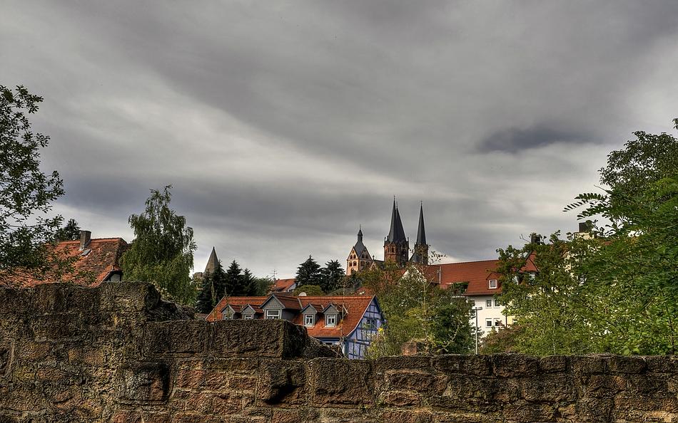 In Gelnhausen.....