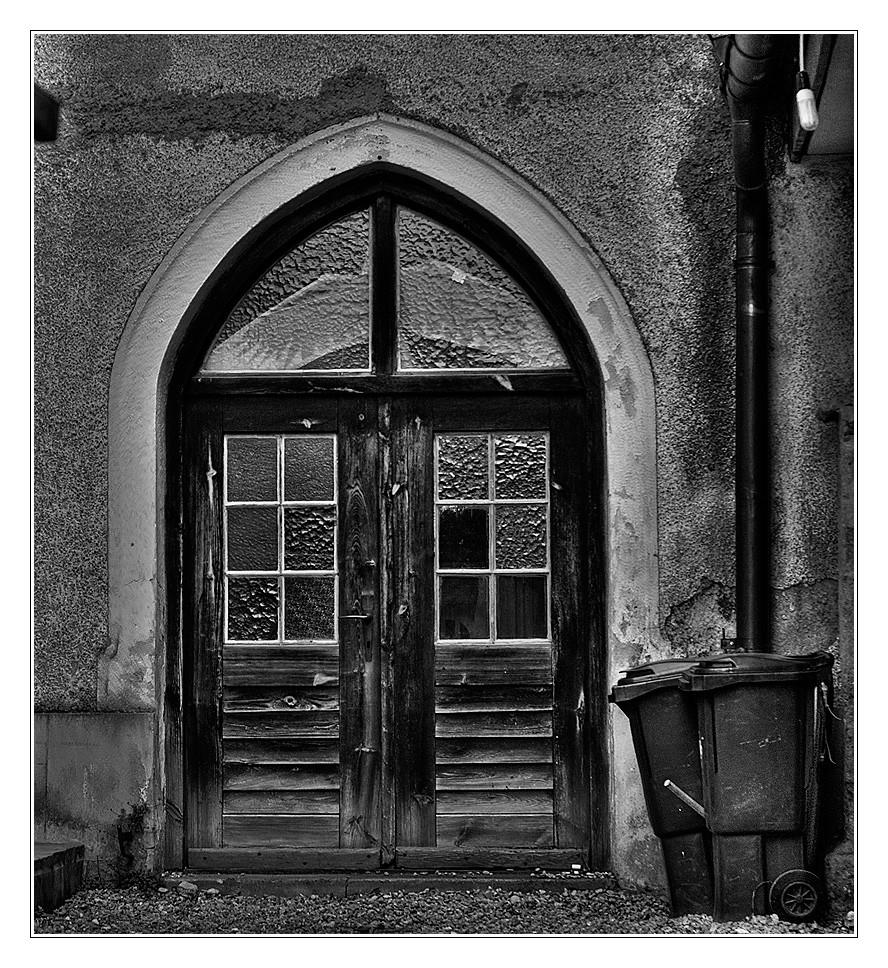 in Hinterhof