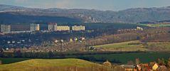 In hohem Maße spektakulär ist dieser Weitblick von Maxen bis zur Bastei...