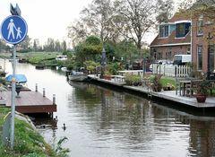 In Holland lebt man am Wasser...