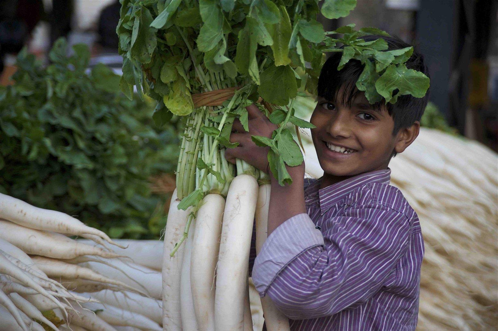 In India al mercato