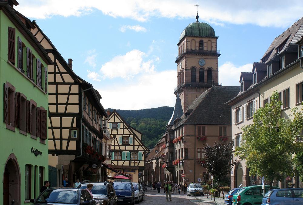In Kaysersberg