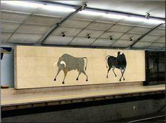 In Lisbon underground