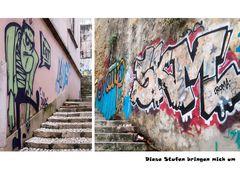 In Lissabon muss der Tourist Kondition haben