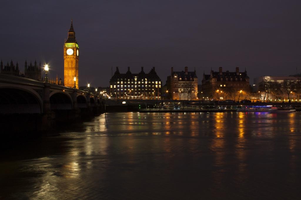 In London......