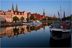in Lübecker Hafen