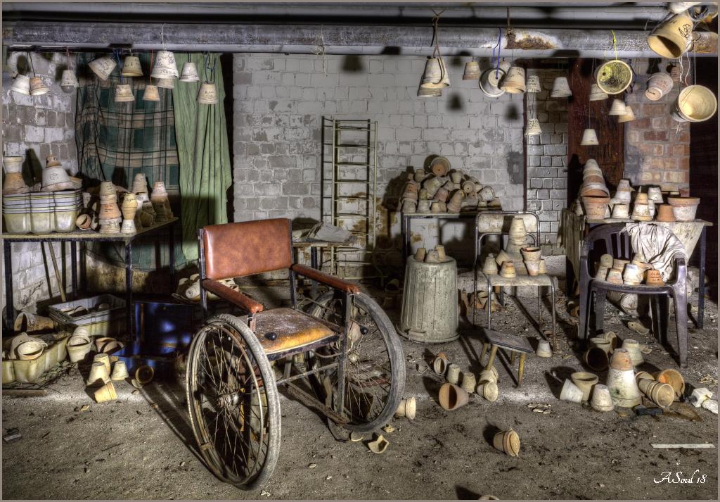 In manchen Kellerräumen...