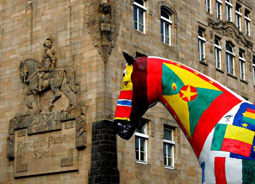 In Mannheim sind die Pferde los 1