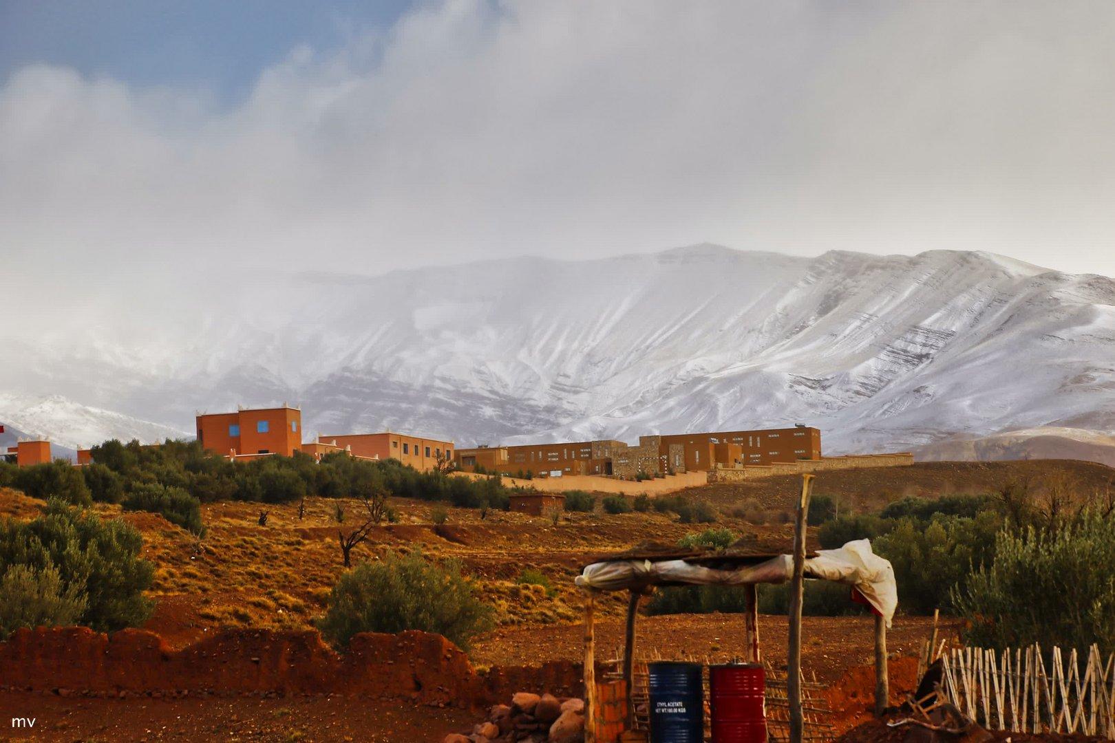 In Marokko liegt schon Schnee