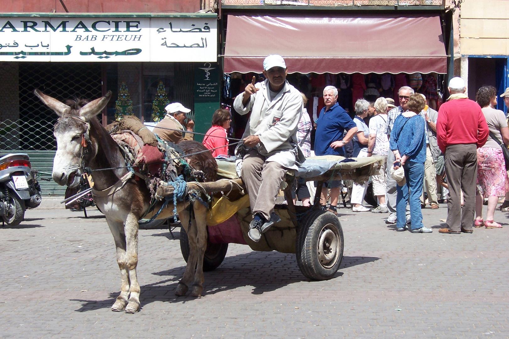 In Marrakech / Marokko
