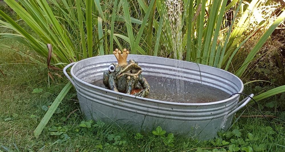 In meiner Badewanne bin ich Königin