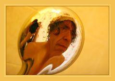 in meiner Badewanne ...