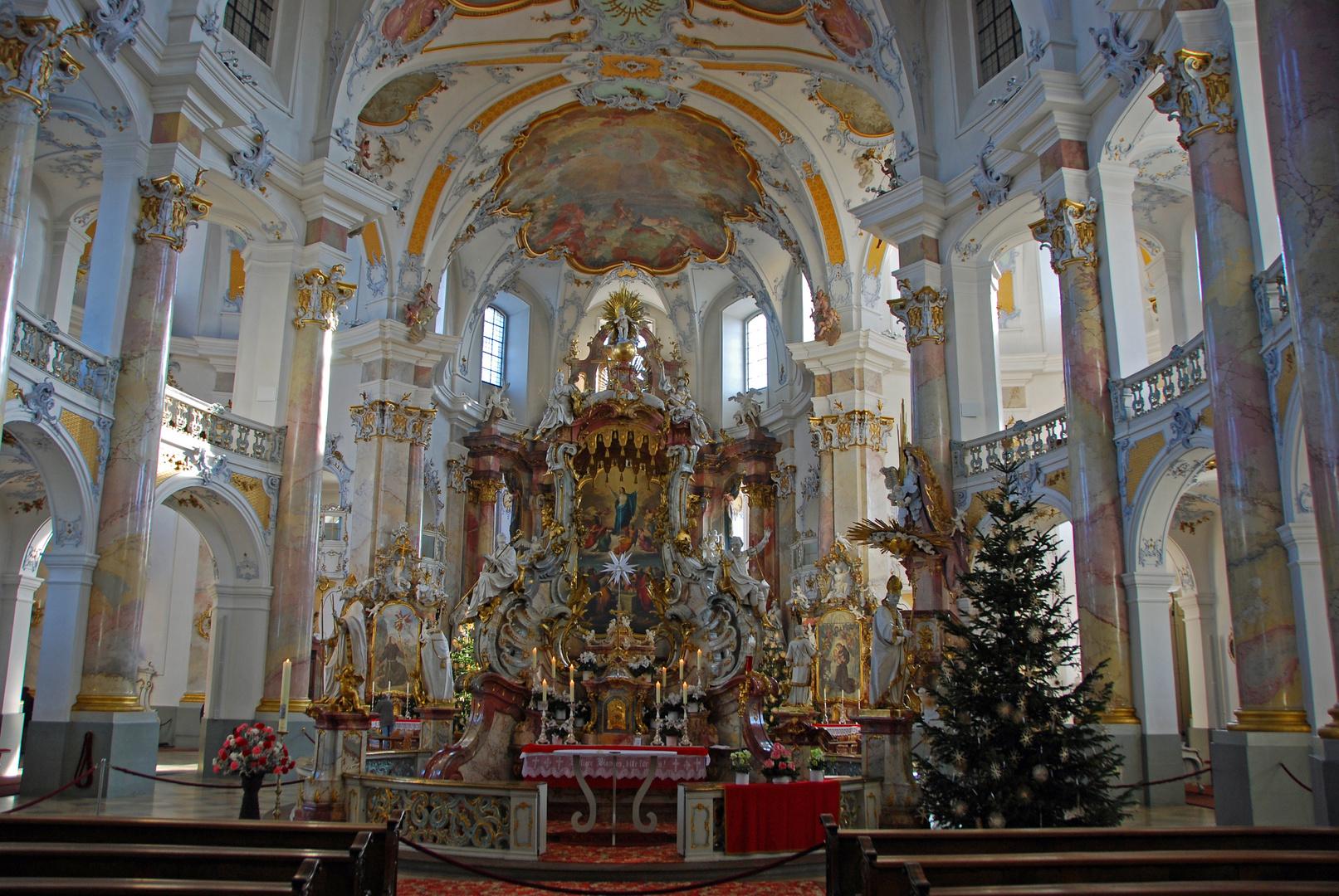In meiner Lieblings - Basilika - Vierzehnheiligen