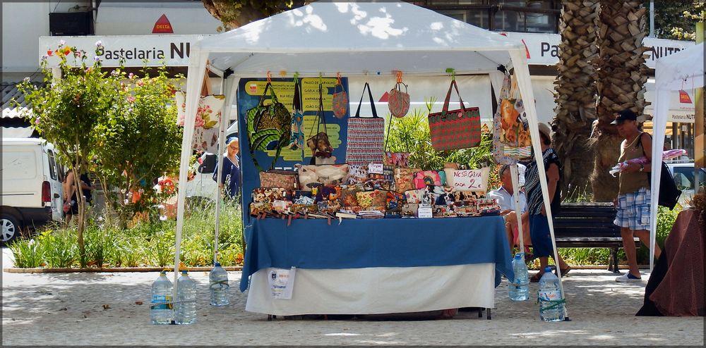 In mercatino d`artigianato