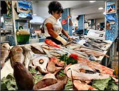 In mercato di pesce