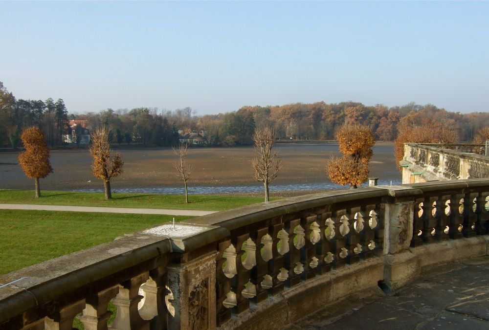 °°° In Moritzburg fehlt heut auch alles - Wasser - Figuren - Blätter °°°