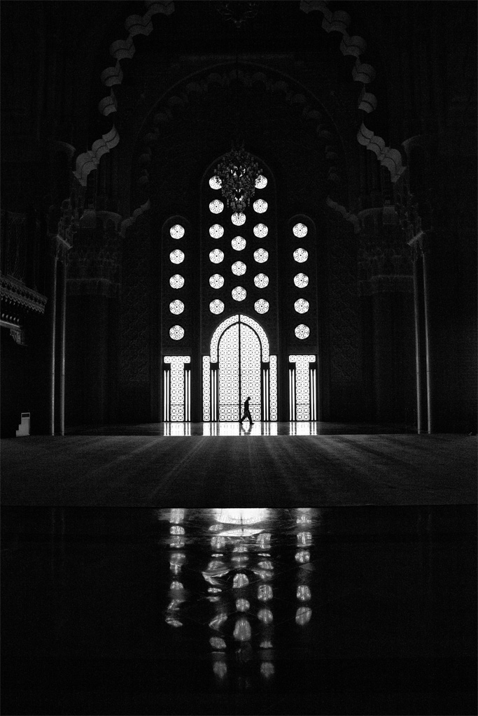 in moschea