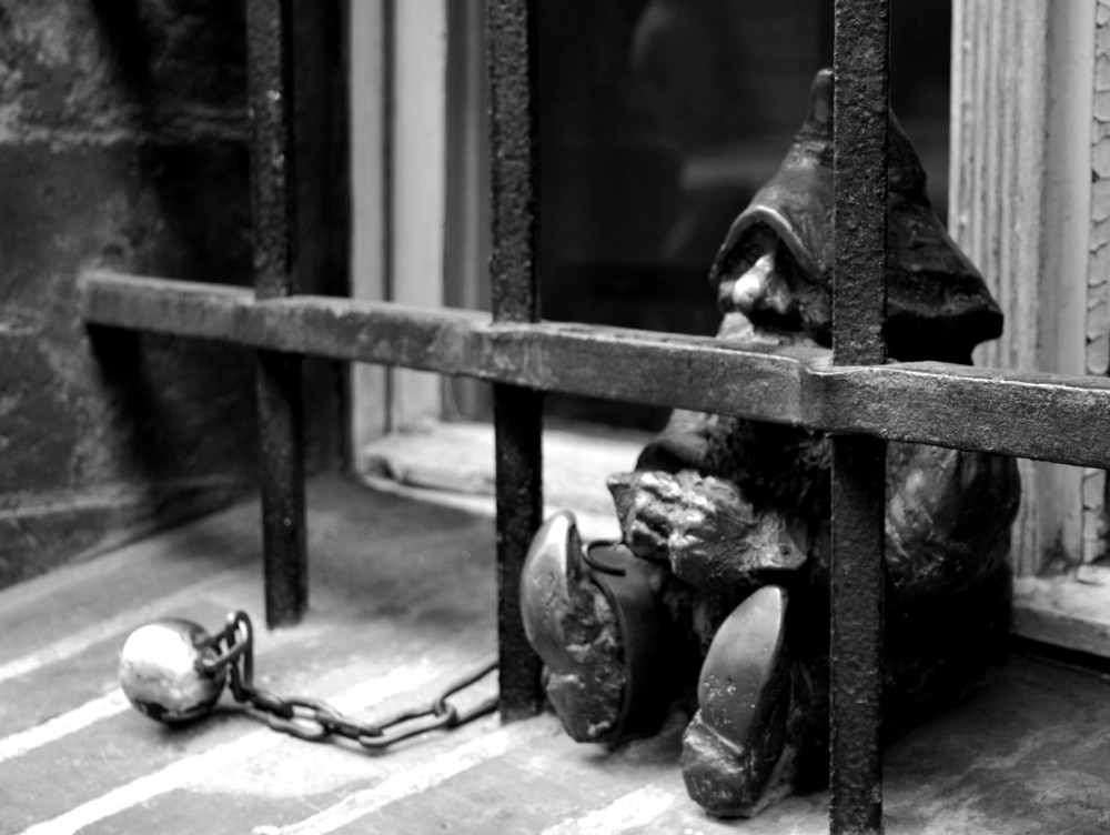 In my own prison...