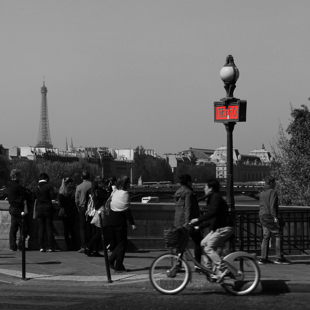 In Paris...
