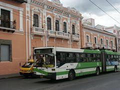 In Quito gibt's noch den guten alten O-Bus!