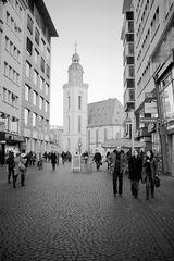 In Richtung Katharinenkirche