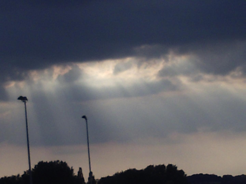 In Rügen bricht der Himmel auf