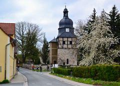 In Saaleck, Ortsteil von Bad Kösen