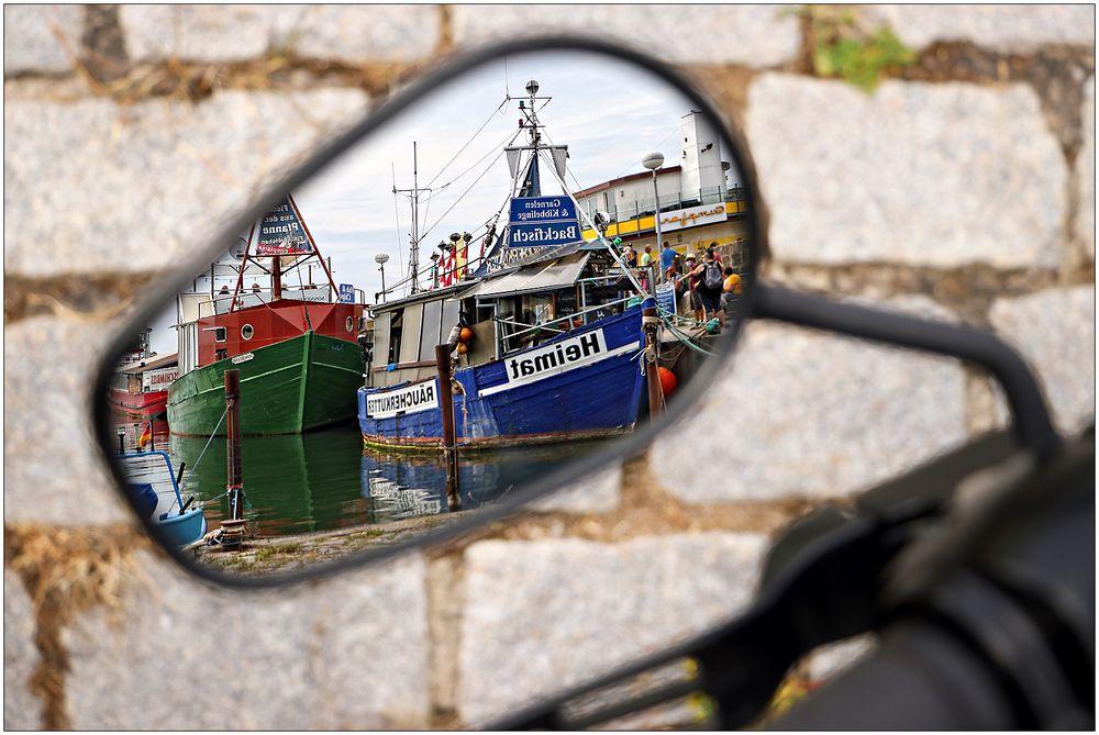 In Sassnitz gespiegelt...