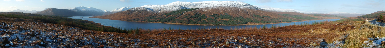 """""""In Schottland heißen Seen Loch""""..."""