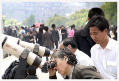 .. in Shanghais Zukunft schauen ...