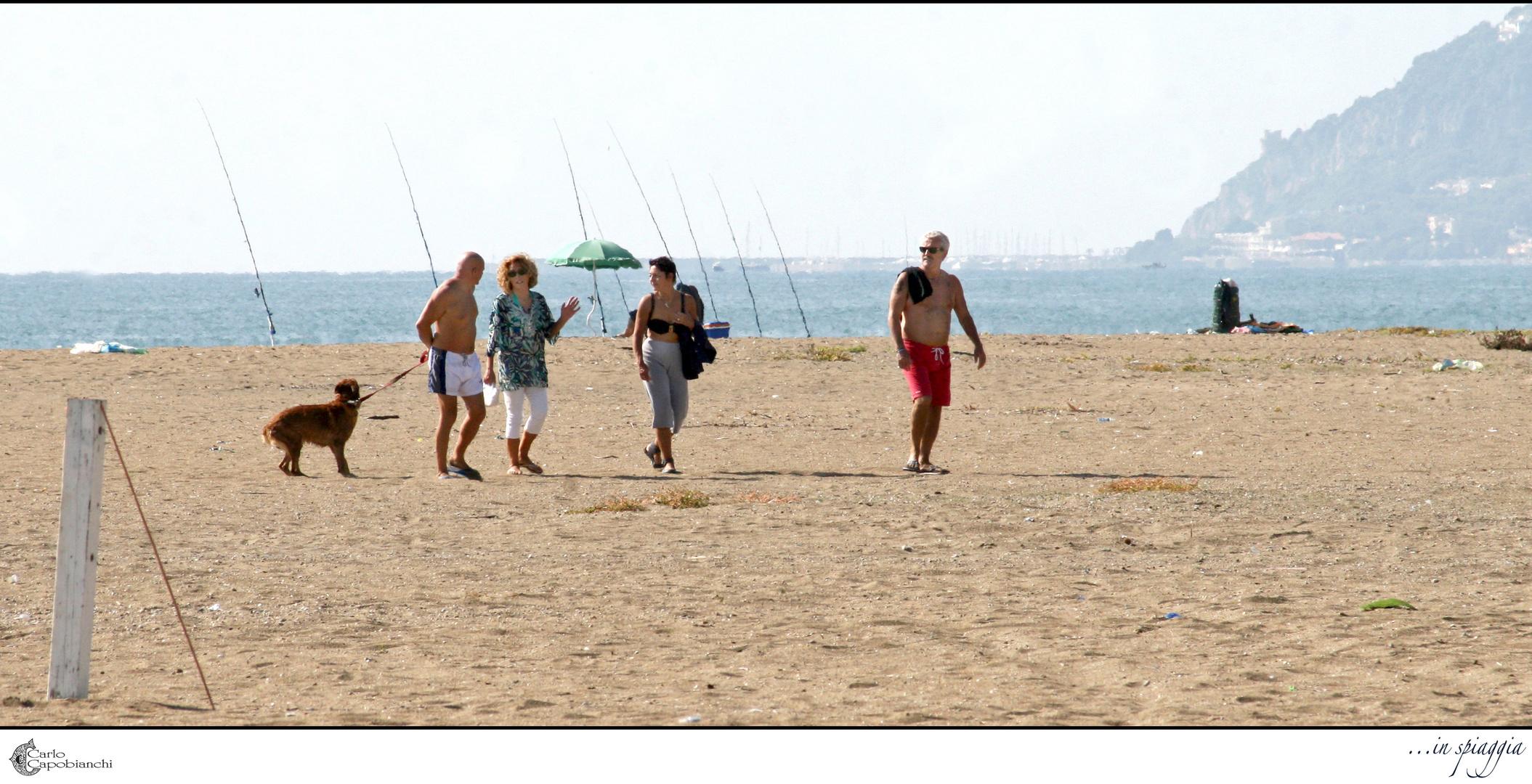 ...in spiaggia