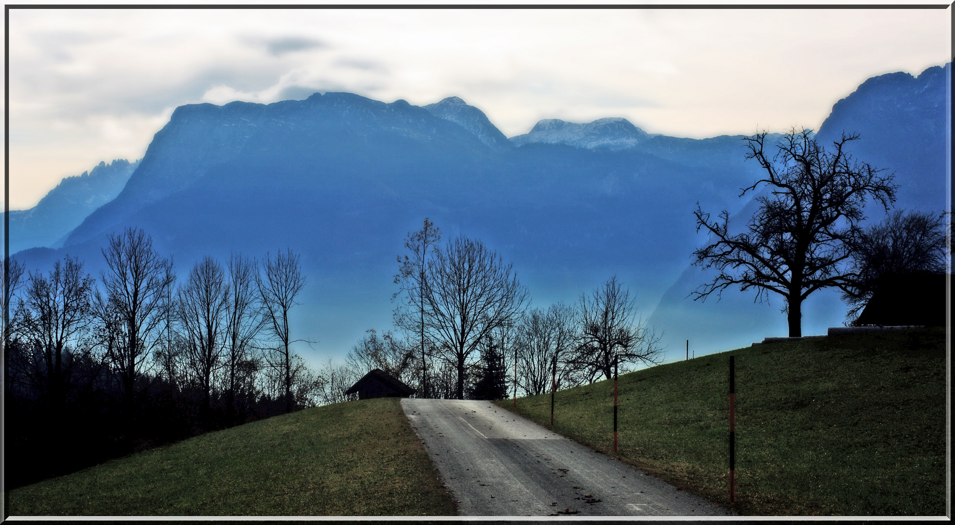 In St. Koloman... und im Tal ist Nebel