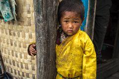 In Tatopani, Nepal