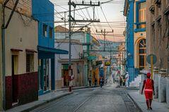 In the center of Santiago de Cuba