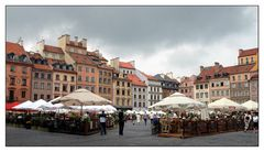 In the centre of Warsaw