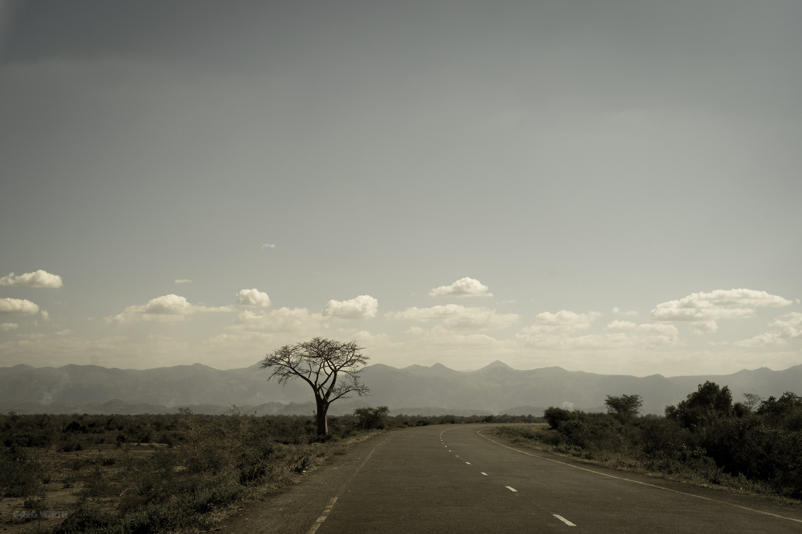 In the Great Rift Valley