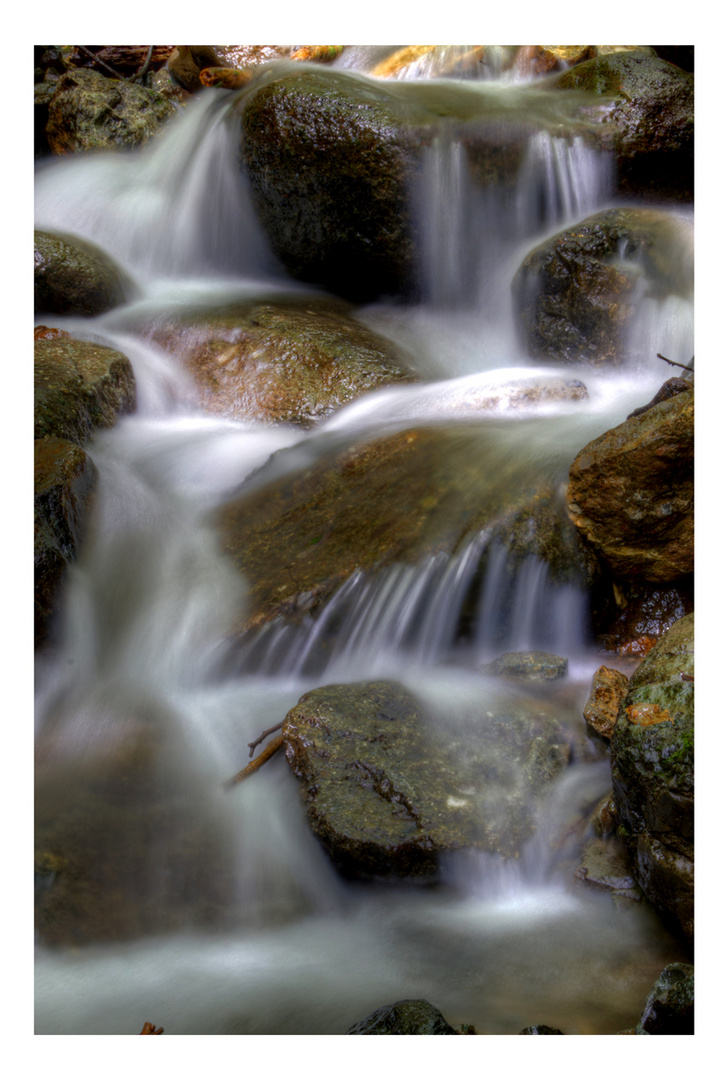 In the mountain stream-1